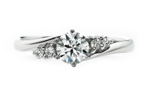 婚約指輪「バニラ」